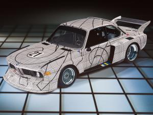 BMW 3.0 CSL Group 2 Art Car by Frank Stella 1976 года